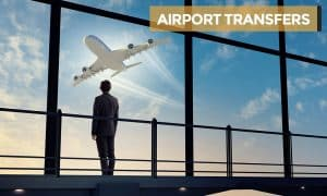 AIRPORT TRANSFERS with heading