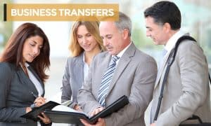 BUSINESS TRANSFERS with heading