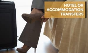 HOTEL ACCOMMODATION TRANSFERS with heading