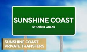 SUNSHINE COAST PRIVATE TRANSFERS with heading
