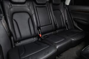 A6 inside - leather seats